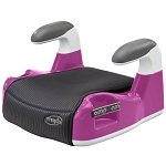 Evenflo Amp? Performance No-Back Booster Car Seat, Pink