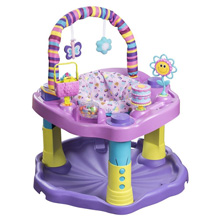 Evenflo Evenflo® ExerSaucer® Bounce & Learn™, Sweet Tea Party