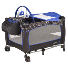 Evenflo Portable BabySuite® Deluxe Playard, Hayden Dot