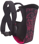 Evenflo Snugli Vented Soft Carrier Pink Frill