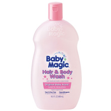 Baby Magic Hair & Body Wash Original Baby Scent, 16.5oz