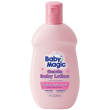 Baby Magic Gentle Baby Lotion, Original Baby Scent Lotion, 9oz