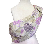 The Peanut Shell Adjustable Baby Sling, Dahlia