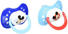 Cuddlie Accessories Mickey Pacifier in Case 2-Pack