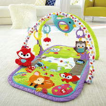 Fisher Price 3-in-1 Musical Activity Gym - Woodland