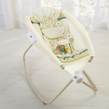 Fisher Price Deluxe Newborn Rock 'n Play™ Sleeper - Soothing Savanna