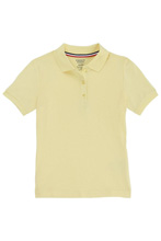 French Toast Girl Skinny Polo White Size 7-14  40% Off