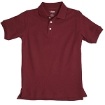 French Toast 60% Off Only $4.00 Boy Pique Polo, Burgundy Size 6