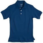 French Toast Pique Polo, Royal Blue
