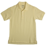 French Toast Pique Polo, Yellow Size 8 40% Off