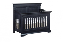 Ozlo Baby Galloway 4-in-1 Convertible Crib in Navy Mist