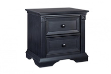 Ozlo Baby Galloway Nightstand in Navy Mist