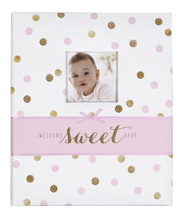Carter's Loose Leaf Baby Memory Book - Sweet Sparkle