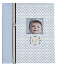 C.R. Gibson Loose Leaf Baby Memory Book - All Boy