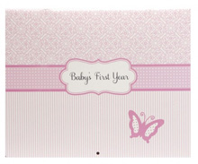 C.R.Gibson Baby's First Year Calendar - Bella