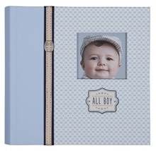 C.R.Gibson Slim Bound Photo Journal Album - All Boy