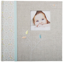 C.R.Gibson Slim Bound Photo Journal Album - Linen Tree