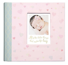 C.R.Gibson Slim Bound Photo Journal Album - Little Love