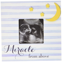 C.R.Gibson Photo Sonogram Frame - Miracle From Above