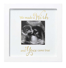 C.R.Gibson Sonogram Frame - We Made A Wish