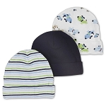 Gerber Baby Caps - Boys - 3 Pack