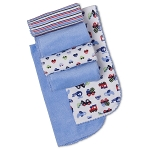 Gerber Terry Burp Cloths - Boy - 6 pack