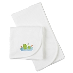 Gerber Thermal Receiving Blanket  - White - 2 Pack