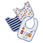 Gerber 2 Ply Terry Bibs - 3 Pack