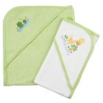 Gerber Terry Hooded Towel Set - Neutral