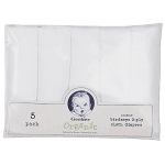 Gerber Organic Birdseye Cloth Diapers - 5 Pack