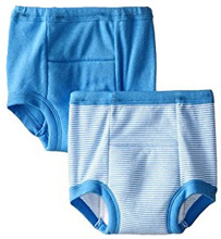 Gerber Little Boys' 2 Pack Training Pants - Blue, 2T