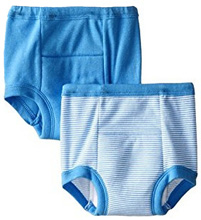 Gerber Little Boys' 2 Pack Training Pants - Blue, 3T