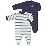 Gerber Snap Front Sleep 'N Play - Boys 3-6 Months - 2 Pack
