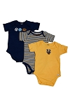 Lamaze Short Sleeve Bodysuits Newborn Boy - 3 Pack