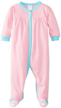 Lamaze Sleep'n Play with Snaps Dot-Cat Girl 6-9 Months