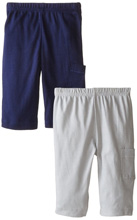 Gerber Baby Boy 2 Pack Pants, Sports - 3-6 Months