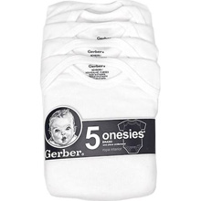 Gerber Short Sleeve Onesies One Piece Underwear 5 Pack 0-3  months
