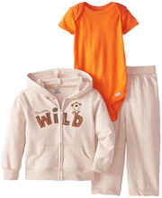 "Gerber Baby Boys' Three-Piece Set, ""I'm A Little Wild"""