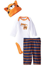 Gerber Baby Boys' Three-Piece Set, Tiger