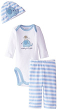 Gerber Baby Boys' Three-Piece Set, Elephant