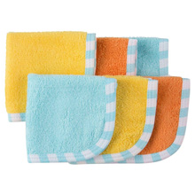 Gerber Unisex Baby 6 Pack Woven Washcloths