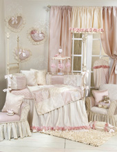 Glenna Jean Victoria 4-Piece Crib Bedding Set