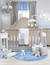 Glenna Jean Starlight 3 Piece Crib Bedding