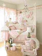 Glenna Jean Isabella 4-Pieces Bedding Crib Set