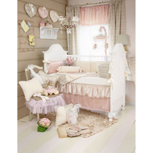 Glenna Jean Love Letters 4 Piece Crib Bedding