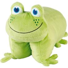 Go Travel Kids Frog Folding Pillow