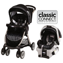 Graco FastAction Fold Travel System Metropolis