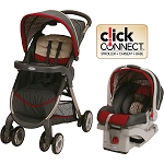 Graco FastAction™ Fold Click Connect™ Travel System Finley