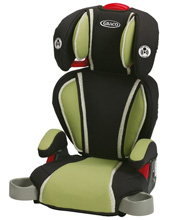 Graco Baby Highback TurboBooster® Car Seat, Go Green