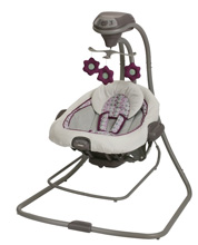 Graco Baby DuetConnect™ LX Swing + Bouncer, Nyssa